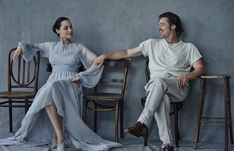 angelina jolie and pitt for vogue 2015