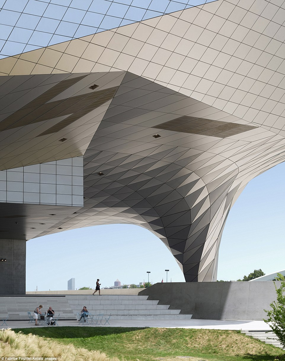 There are few buildings that can match the visual dynamism of the Musee de Confluences in Lyon, France Read more: http://www.dailymail.co.uk/travel/travel_news/article-3965280/Building-great-careers-stunning-shortlisted-entries-Architectural-Photography-Awards.html#ixzz4RCZ8D2mx Follow us: @MailOnline on Twitter | DailyMail on Facebook